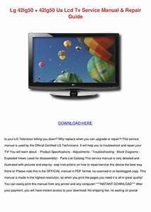 Download Free Pdf For Lg 42lg50 Tv Manual
