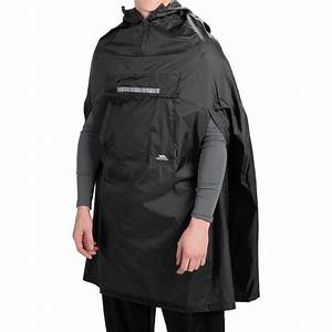 Trespass Qikpac® Packaway Rain Poncho (For Men and Women ...