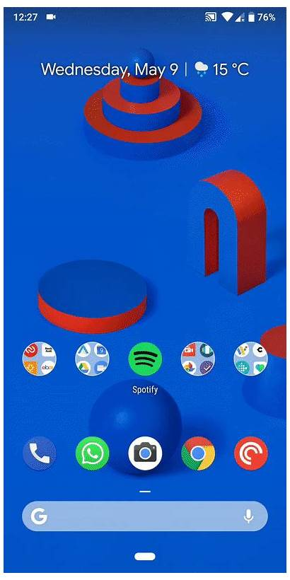 App Android Drawer Tip Homescreen Screen Button