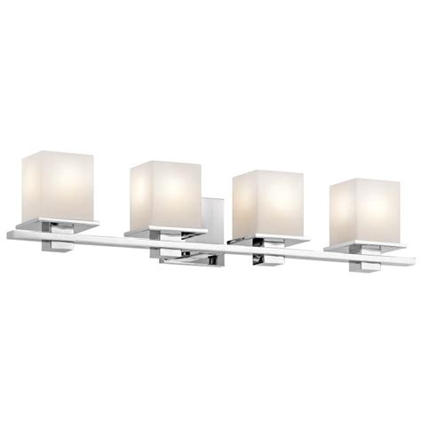 kichler ch tully contemporary chrome finish  tall