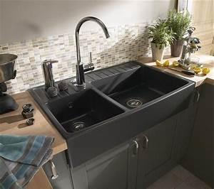 Evier Cuisine Leroy Merlin : pingl sur kitchen ~ Melissatoandfro.com Idées de Décoration