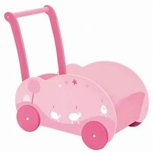 Chariot Bois Bébé : moulin roty chariot de marche souris lila ~ Teatrodelosmanantiales.com Idées de Décoration