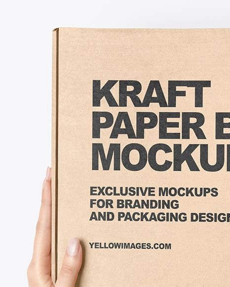 Really excited to share very fine quality and well designed gift box packaging mockup perfect for branding. Download Kraft Paper Mailing Box Mockup Yellowimages ...