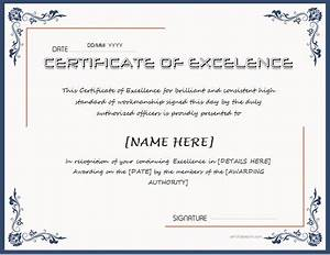 best teacher award template certificates of excellence for ms word professional certificate templates