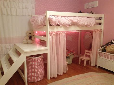 Ana White Little Girls Jr Loft Bed Diy Projects