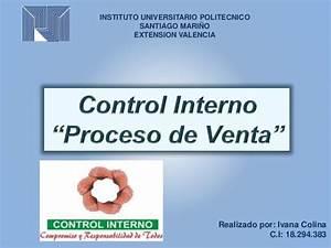 Control Interno  U0026quot Proceso De Ventas U0026quot