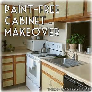 Update Kitchen Cabinets Without Painting by How To Make Over Your Kitchen Cabinets Without Paint The