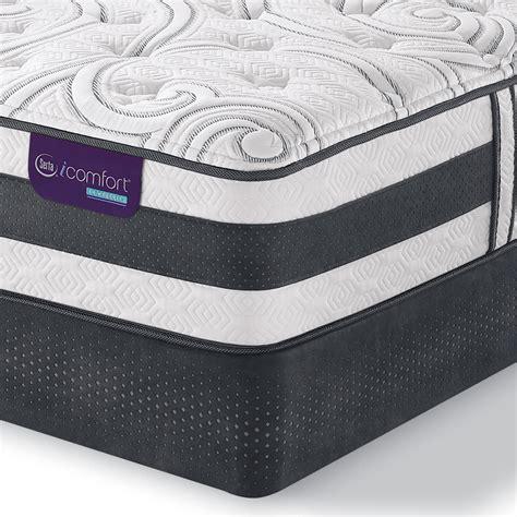 best cing mattress serta hybrid applause ii plush king mattress