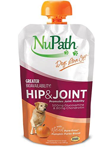 Pumpkin Puree For Dogs Diarrhea by Nupath Hip Amp Joint Supplement For Dogs Rich In