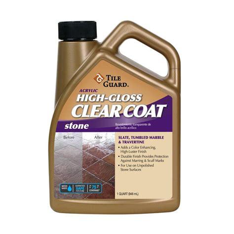 high gloss tile sealer shop tile guard 32 oz acrylic high gloss floor finish at lowes com