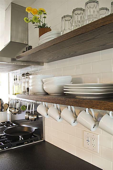 best 25 floating shelves kitchen ideas on pinterest