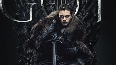 jon snow  game  thrones final season   wallpapers