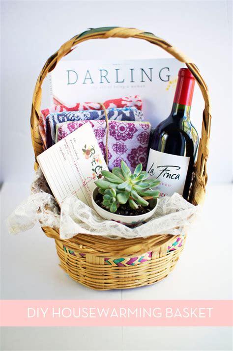perfect diy housewarming basket curbly
