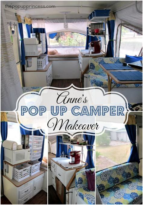 annes pop  camper makeover camper makeover remodeled