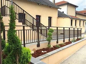 Garde Corps Terrasse Aluminium : rambarde ext rieure alu pour all e et escalier divinox ~ Melissatoandfro.com Idées de Décoration