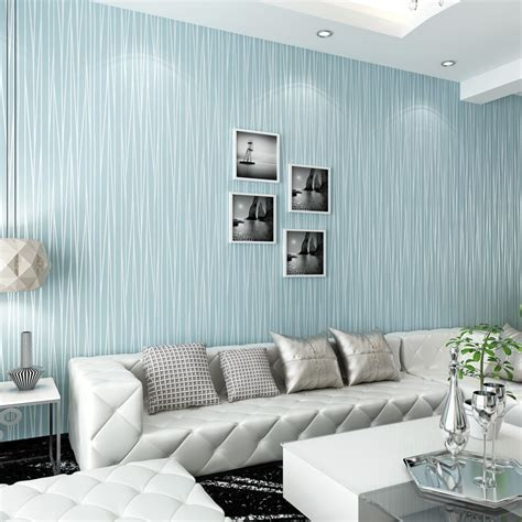Blue Striped Wallpapers For Walls Blue Stripe Wall Paper