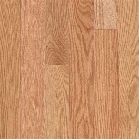 lowes oak flooring unfinished mohawk 3 25 in w x 75 in thick prefinished oak solid hardwood flooring natural oak lowe s