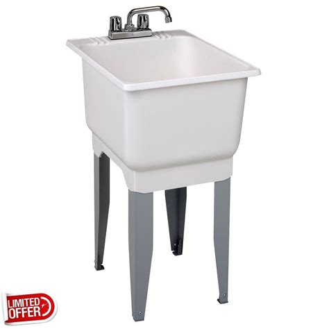 mustee laundry sink cabinet sale mustee 12c 18 inch x 23 5 inch plastic laundry tub