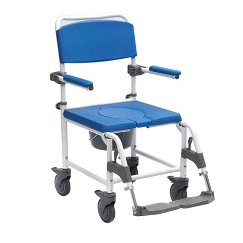 adaptable shower commode chair att controlled nrs healthcare