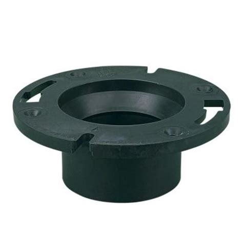 4 in abs dwv closet flange c5851hd4 the home depot
