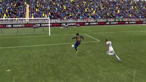 fifa  messi advanced rainbow flick goal youtube