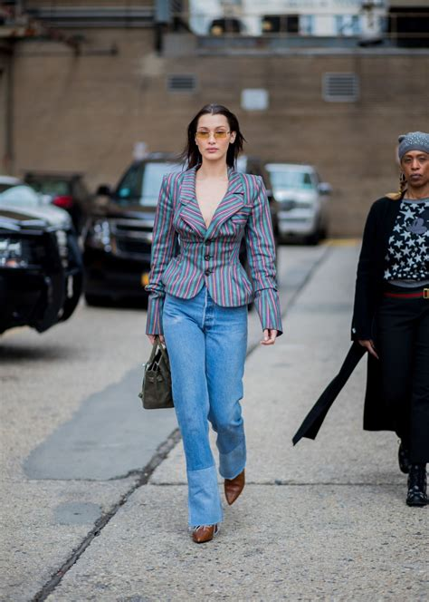 bella hadid  casual outfit   york city