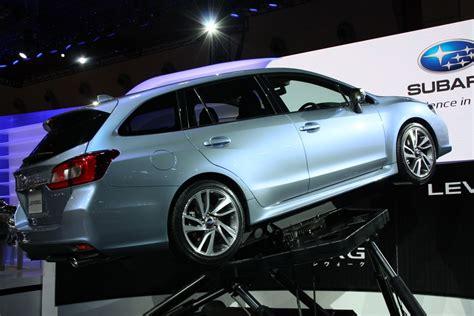 Subaru Levorg Concept Rear Three Quarters 2018 Tokyo Motor