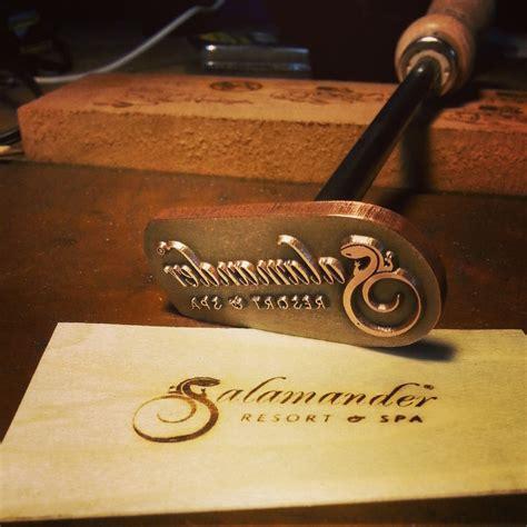 custom branding irons  making  mark
