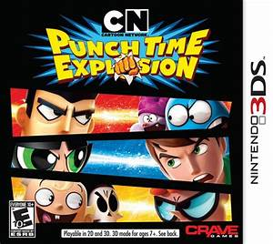 Cartoon Network Punch Time Explosion Dexteru002639s