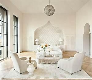 Tete De Lit Blanche : t te de lit orientale pour une chambre chic et exotique ~ Premium-room.com Idées de Décoration