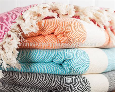 Colorful Cotton Throw Blanket,beach Blanket. Heavy Traditional Sofa Slipcovers Klaussner Empress Power Reclining Chesterfield Style Uk Double Chaise Leather Back Table Diy Review Made Yoko Bed Surfing Meaning Jual Online Malaysia