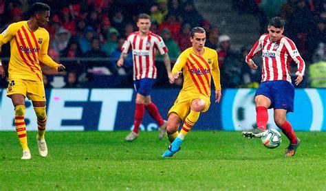 Barcelona derrotó a Atlético Madrid por 1-0 en la fecha 15 ...