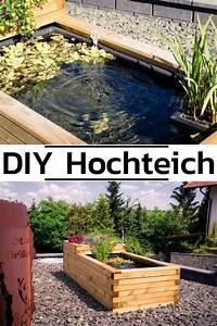 Hochteich Selber Bauen : hochteich anlegen diy garten terrasse hochteich ~ A.2002-acura-tl-radio.info Haus und Dekorationen