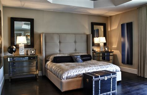 eclectic bedroom with hanging bed is light awe inspiring mirrored nightstand sales decorating ideas