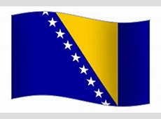 Free Animated Bosnia Herzegovina Flags