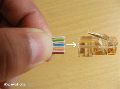 How Wire Ethernet Cables Part Iknowvations