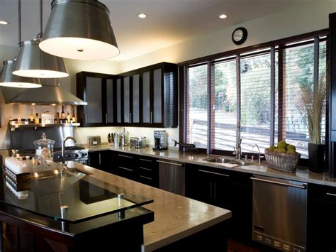 black cabinet kitchen designs u shaped kitchen with peninsula hgtv pictures ideas hgtv 4653