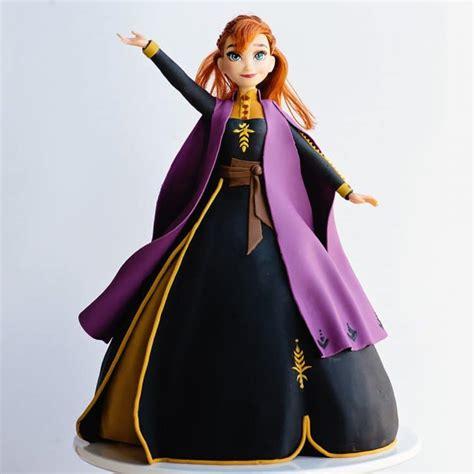 frozen  elsa princess cake video tutorial ashlee marie