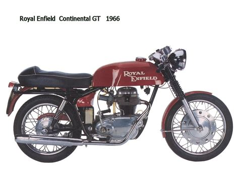 Enfield Continental Gt Image by Royal Enfield Continental Gt 1966