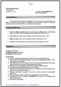 how to write an excellent resume sample template of an With resume samples for experienced in word format