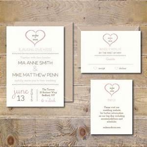 printable wedding invitations wedding invitation With free printable heart wedding invitations