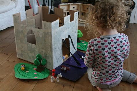 castle story box fun family crafts