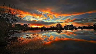 Wallpapers Scenic Scenery Sunset Desktop