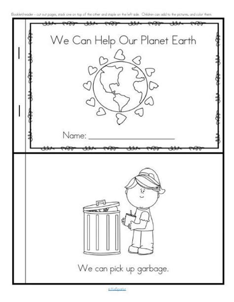earth day activities for preschool pre k and kindergarten