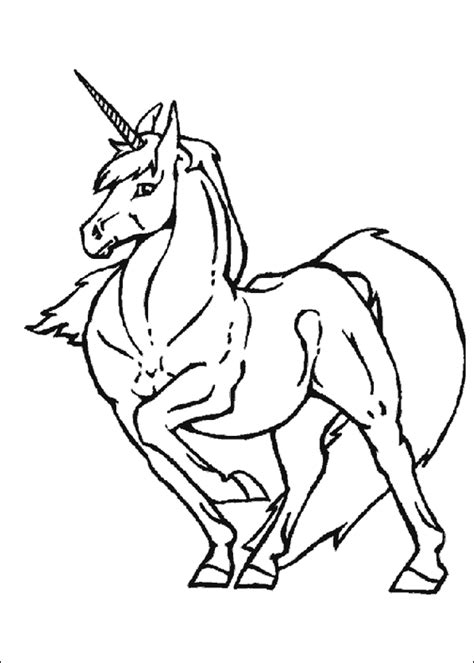Coloring Pages Unicorn by Unicorn Coloring Pages Coloring Pages To Print