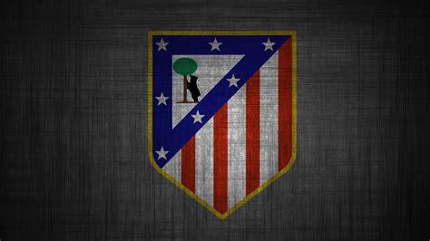 fonds decran atletico de madrid logo