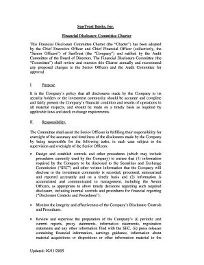committee charter template charter exles for a committee fill printable fillable blank pdffiller