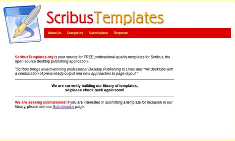 scribus templates scribus template linux mint community