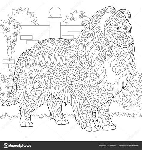 Kleurplaat Mandala Hondje by Kleurplaat Volwassenen Hond Kleurplaten Tekeningen