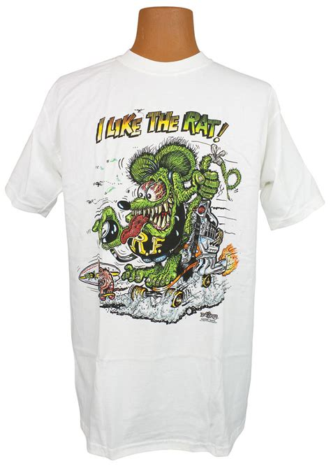 rat fink  shirt    rat fits   monte